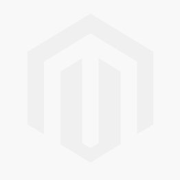 Editions Angel White - A front view of a closed white faux wooden venetian blind