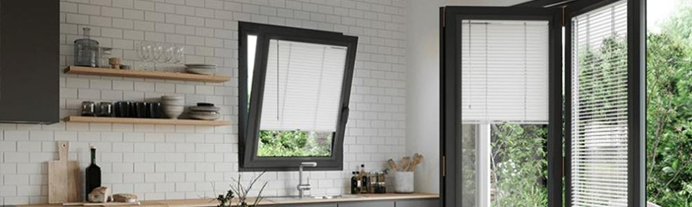 Perfect Fit blinds in kitchen