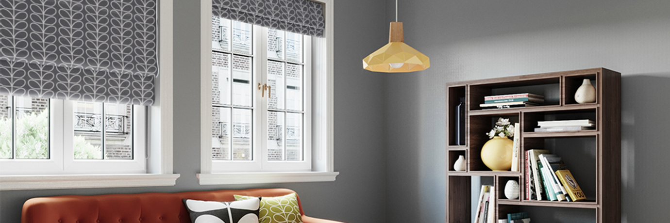 Orla Kiely living room ideas