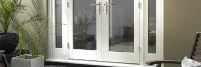 Can you install wooden blinds on patio doors?