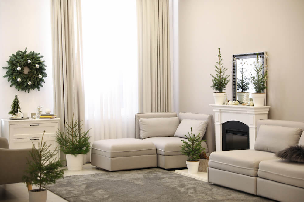 window decorations living room