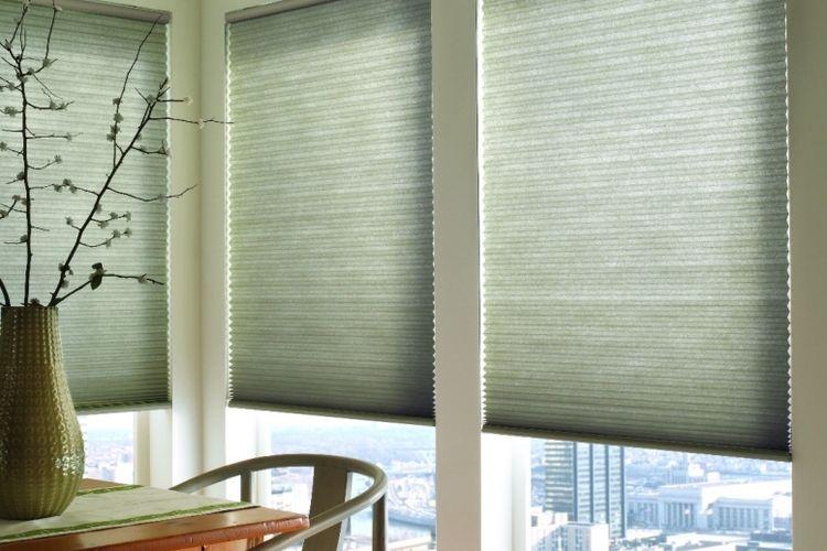 pleated ecofit blind