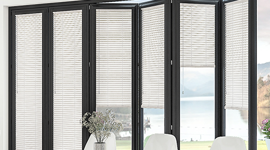 Perfect Fit Blinds on bifold doors