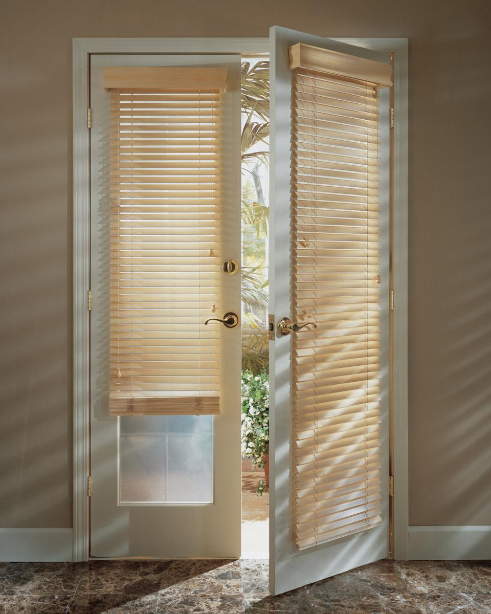 Make My Blinds & Installing Wooden Blinds on Patio Doors | - Learn - MakeMyBlinds.co.uk